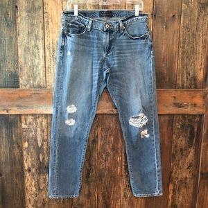 Lucky Brand, 6, Sienna Slim Boyfriend Blue Jeans